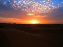 The last day of my 40's before the Sun rose again I would be 50! But what a place to spend it - in the Desert in Dubai!