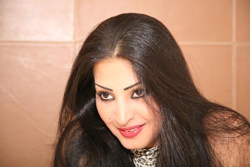 Saudi Arabian actress Reem Abdullah