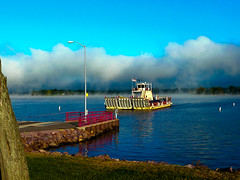 Merrimac WI (mike.palic) Tags: lake water colors ferry river bold