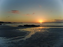 sunset at carrickfinn (cnocfola) Tags: ireland sunset sea sun seascape atlantic donegal irsh