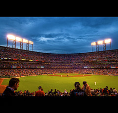 MLB World Series Game 1 (2010 AT&T Park SF Giants Vs Texas Rangers) (Exploring Earth) Tags: sf sanfrancisco california nikon texas baseball stadium tx explore giants rangers hdr att 2010 worldseries d90 photomatix attpark