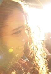 Maggie (kellyymcardlee) Tags: portrait sun girl smile pretty glare rays beams sunspots