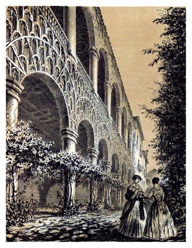 025-Palacio de Guadalajara-Galeria del jardin-Recuerdos y bellezas de España Castilla la Nueva Vol 2