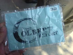 My Colbert Ticket