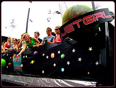 Jetgirl Float at Pride (F. Tronchin) Tags: gay columbus ohio pride parade gaypride picnik jetgirl
