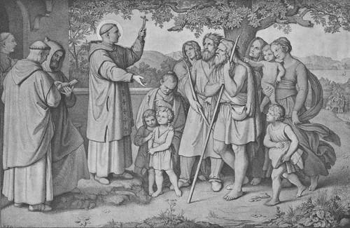 Der heilige Bonifatius