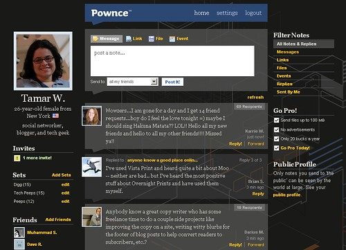 Twitter vs. Pownce: Who Pwns?
