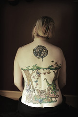 My Back (Kerrie Lynn Photography (Sugaree_GD)) Tags: trees mushroom back butterflies tattoos fairy backpiece faries amybrown staceysharp sugareegd keirwells