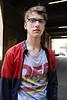 (madeinsheffield) Tags: street boy portrait cute london glasses interesting nikon stranger d200 bricklane ask briefencounter madeinsheffield sigma1850f28 howwearenow simple2007