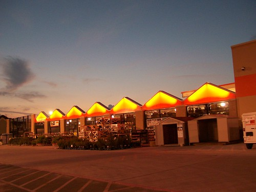 Home Depot by Night