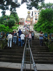 way of swayambhunath (jk10976) Tags: nepal asia kathmandu monkeytemple swayambhunath jk10976 jkjk976