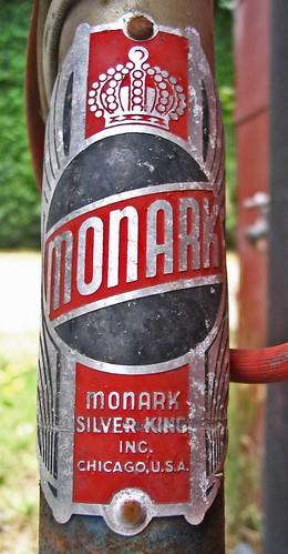 monark name plate