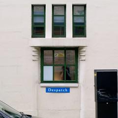 Daimler (2) (FrMark) Tags: street door uk england urban building london window sign century britain garage capital moderne business gb british c20 deco trade 20th daimler streamline twentieth