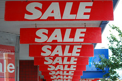 Is there a sale on? @ Lowestoft, Suffolk