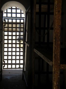 Yuma prison cell