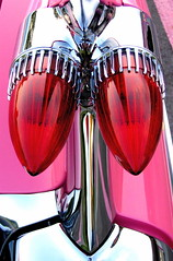 No Dilithium Crystals Necessary (~ Liberty Images) Tags: auto pink sunset red classic car canon vintage interestingness classiccar automobile gm shiny pretty dream headlights cadillac powershot retro explore wv chrome transportation vehicle americana rocket rockets fin a80 caddy taillights 59 1959 tailfin pinkcadillac dreamcar 59caddy pinkcaddy 1959cadillac explore160 supershiny dilithium frhwofavs artofclassiccars cricksters startrekgeekery 1959caddy libertyimages libertyimagesphotography