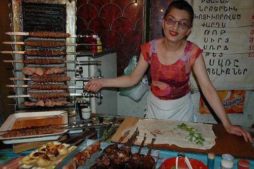 No Shortage of Kebabs in Yerevan