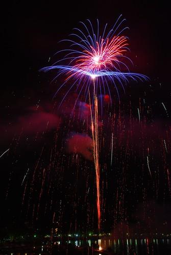 Fireworks in Capodimonte (VT, Italy)