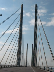 Oresund Bridge, resundsbron, Sweden-Denmark (totnesmonster) Tags: denmark sweden oresund oresundbridge resundsbron
