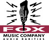 "FOX MUSIC COMPANY Audio Rarities ""Vintage Microphone Logo"" - Watertown Wisconsin WI record store"