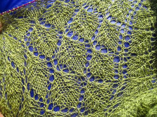 Lace Leaf Shawl
