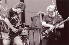 Bob Weir & Jerry Garcia - Grateful Dead 8/22/87 Calaveras County Fairground, Angels Camp, California