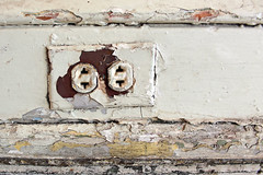 Temporal Baklava (Jay:Dee) Tags: old toronto electric vintage peeling paint decay crystalballroom flaking receptacle kingedwardhotel decrepid deterioration deteriorate dooropen