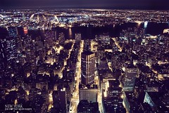 NY: The city that never sleeps (jmavedillo - NTF) Tags: usa ny skyline night noche nocturnal state pentax manhattan empire hudson javier martinez eeuu avedillo k200d jmavedillo