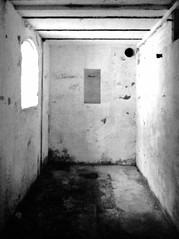 Bunker (KurtClark) Tags: underground us washington highway ae1 iso400 decay cement naturallight 101 bunker wa minimalism canonae1 us101 expiredfilm sidelight ushighway101 28mmlens kodakmax 32003 pacificcounty fortcolumbiastatepark