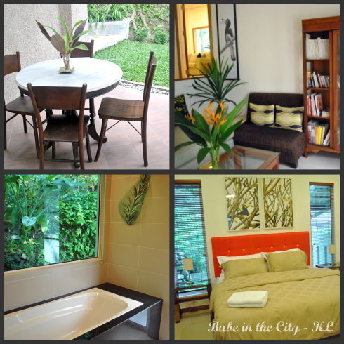 rooms collage