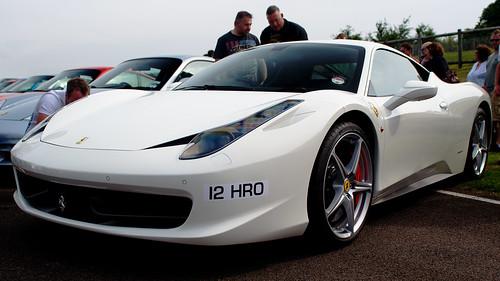 Ferrari 458 White. Ferrari 458 Italia, White