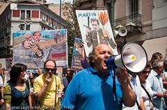 MANIFESTATIONS ET GREVE GENERALE A ATHENES (Hughes Léglise-Bataille) Tags: protest plan bank el athens demonstration greece strike grèce crisis manif manifestation 2010 grève athènes marfin rigueur