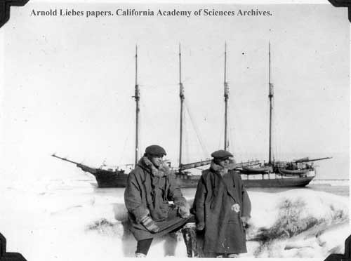 The Arctic at Wainwright, Alaska. A.L. Liebes on the right.