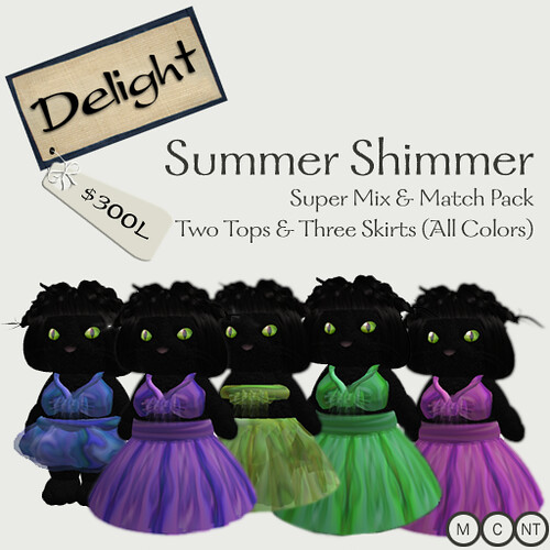 Summer Shimmer Outfit - Super Pack