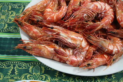 Local prawns
