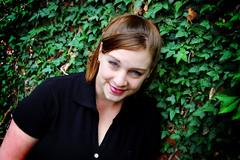 Jenn_8932 (dcketcham) Tags: ohio portrait beautiful smile daylight nikon flickr ivy selftaught wife d40