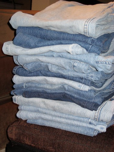Jeans for quilting