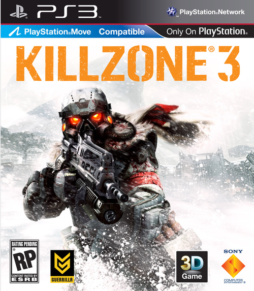 Killzone 3 Official Cover