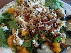 Mandarin Almond Salad at Fireside Cafe
