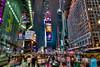 TimeSquare Sunday Night Color (mapaolini) Tags: newyork night timessquare hdr