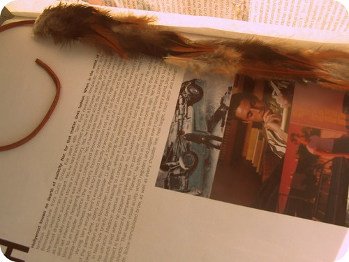 bueno bueno feather book mark