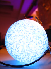 Plasmaball (TabascoEye) Tags: blue ball glow labor led bochum