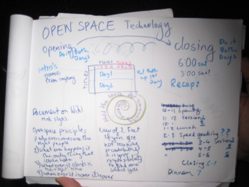 Open Space page