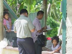 PREACHING IN CABADIANGAN