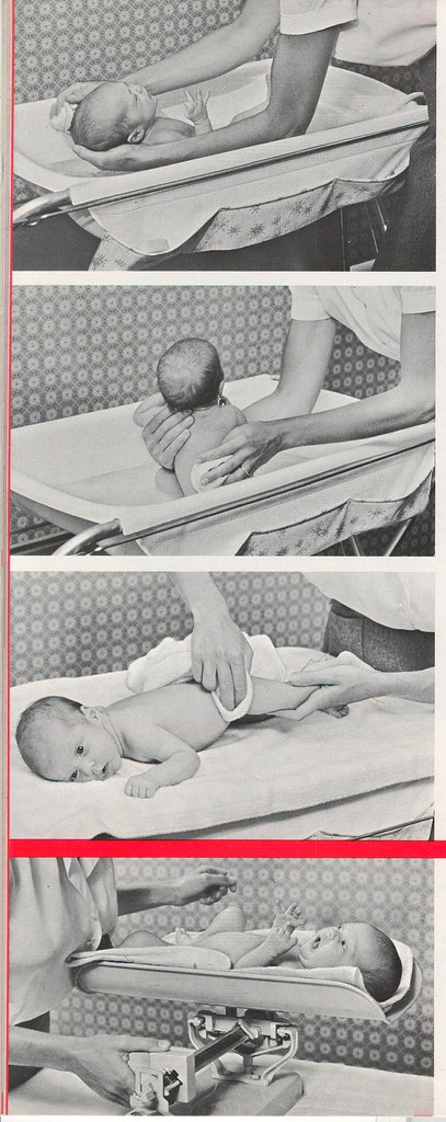 S-M-A s-26: Bathing and weighing baby