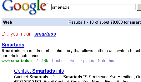 SmartAss or SmartAds