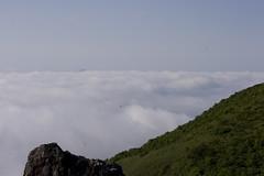 雲下のニセコ連峰