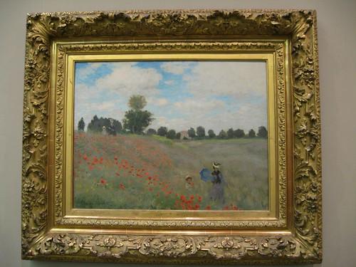 'Las amapolas' de Monet