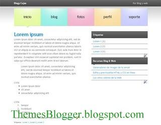 theme para blogger