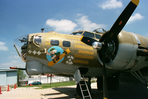 Nine O Nine B-17 Bomber Nose Art